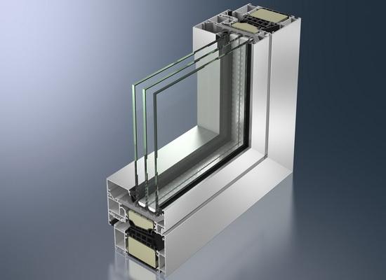 Алюминиевый профиль пластикового окна