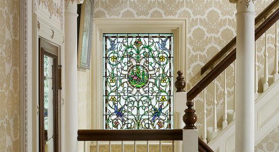 Декор оконных стекол