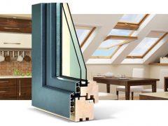 Деревянно-алюминиевые окна — элита среди окон