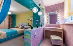 Дизайн спальни с выходом на балкон. Примеры и фото оформления соединенных помещений
