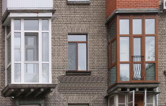 Два балкона на французский тип