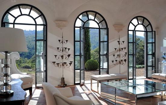 Французские окна. Дополнение к роскошному интерьеру