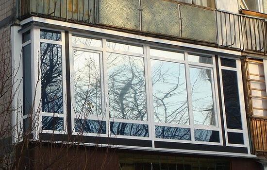 Лоджия с французским окном