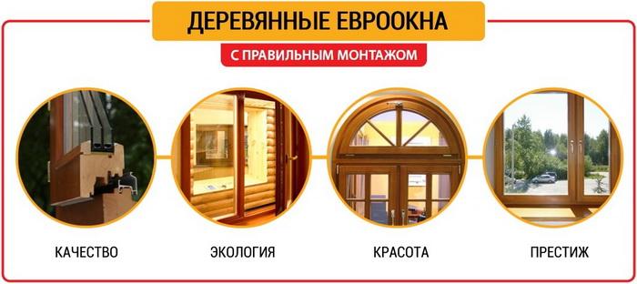 Гармония дорогих деревянных окон