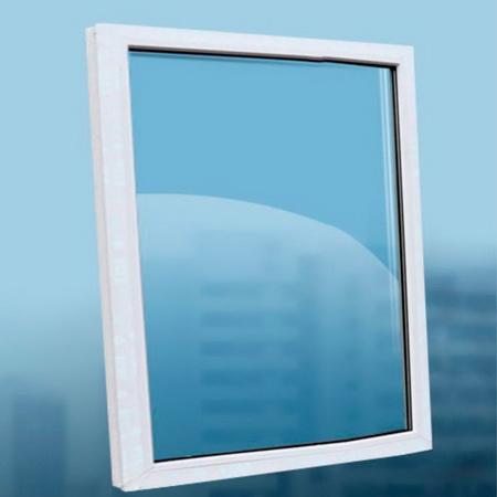 Глухое пластиковое окно