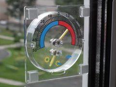 Градусник на пластиковое окно — измеряем уличную температуру точно