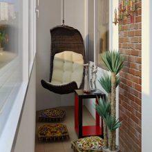 Идеи современного дизайна балкона квартиры + фото