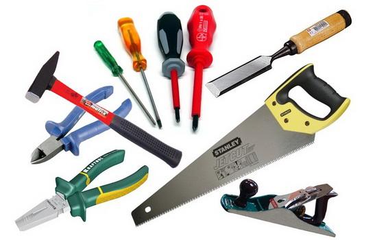 Инструменты для разбора пластикового окна