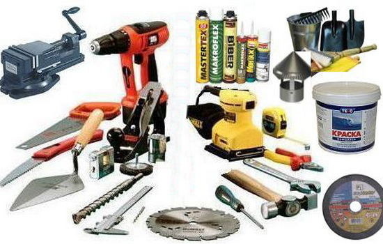 Инструменты и материалы для остекления балкона своими руками