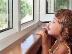 Как сделать деревянные окна безопасными для детей