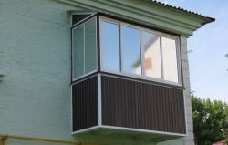 Как сделать крышу на балконе последнего этажа