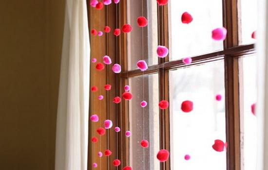 Как украсить окно. Фото