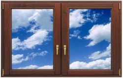 Типы деревянных окон