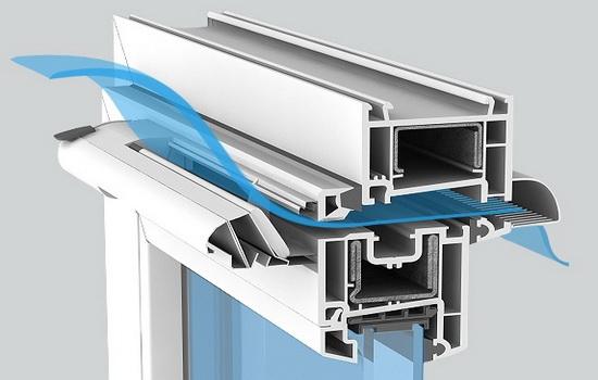 Клапан вентиляции для пластиковых окон. Виды и преимущества