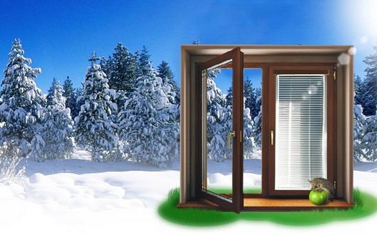 Можно ли монтировать окна из пластика зимой