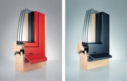 Комбинированные окна. Виды и описание