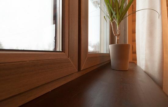 Красивое деревянное окно