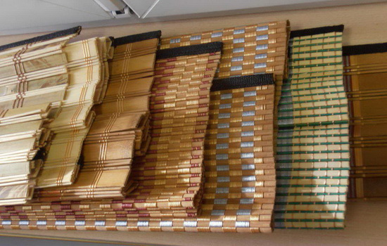 Из чего делаются бамбуковые шторы