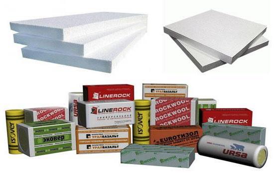 Утепляющие материалы для балкона