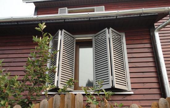 Металлические ставни на окна. Описание, виды, предназначение
