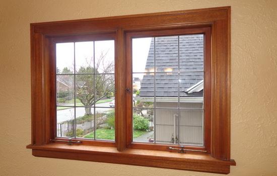 Немецкие окна из дерева