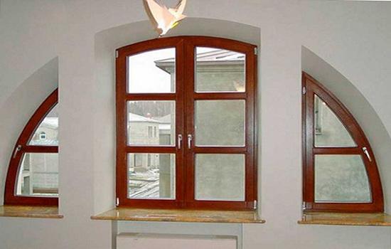 Нестандартные дорогие окна