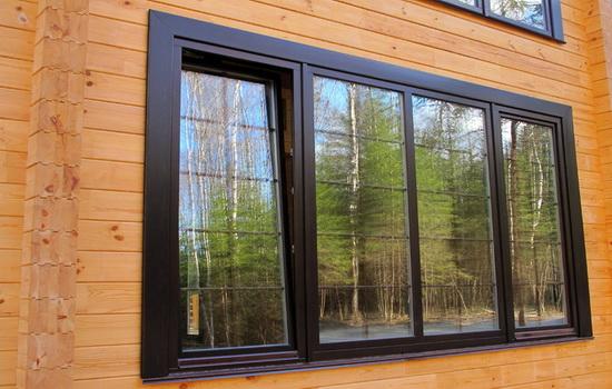 окна для дачных домиков нестандартной формы