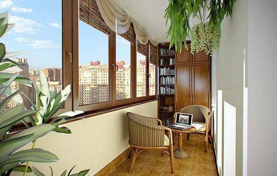 Обустройство балкона. Обзор популярных вариантов + фото