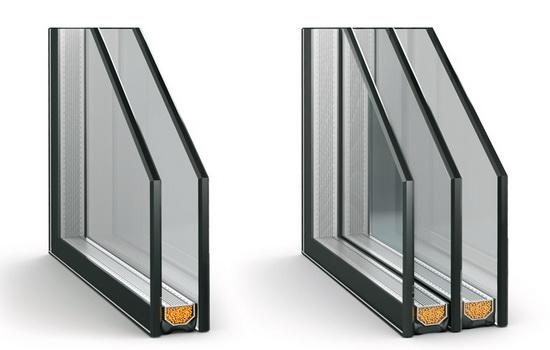 Многокамерный стеклопакет в составе качественного ПВХ окна
