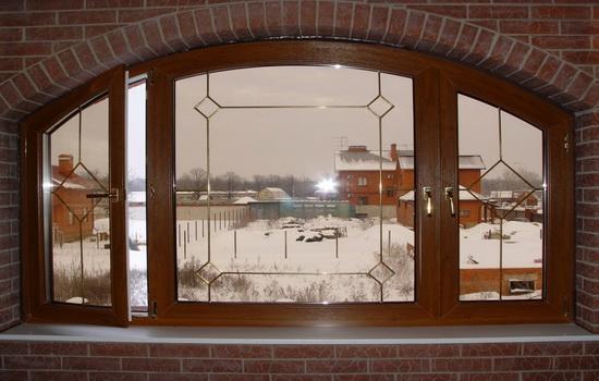 Деревянные окна из лиственницы. Описание
