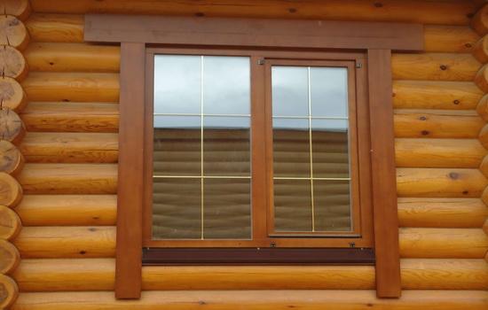 Окна из пластика в загородном доме