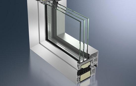 Окна из теплого алюминиевого профиля - описание