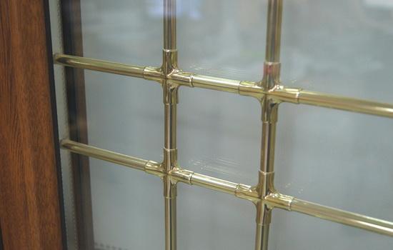 Окна со шпросами. Фото