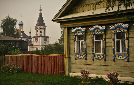 Окна в домах на Руси