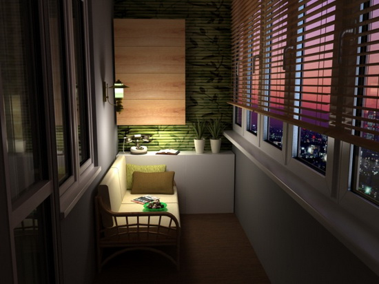 Организация красивого балконного освещения