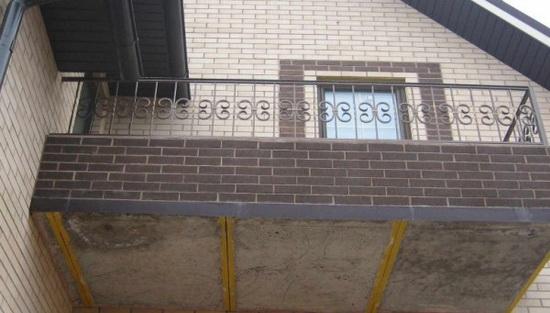 Особенности железобетонного балкона