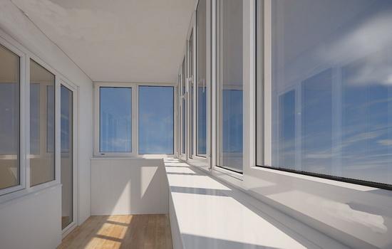 Остекление балконов и лоджий – какой материал выбрать?