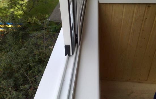 Остекление балкона алюминиевым профилем Provedal