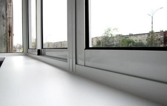 Остекление сооружения ПВХ окнами