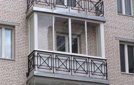 Остекления балконов системой Slidors