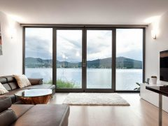 Панорамные окна. Фото и описание возможностей