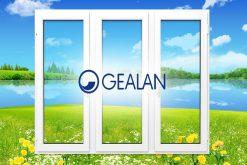 Оконный ПВХ профиль Геалан (Gealan)