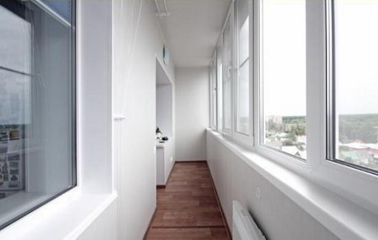 Окна из пластика для лоджии