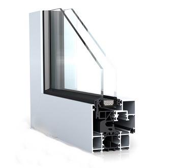 Полимерно-алюминиевые окна
