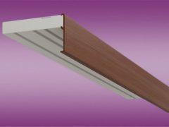 Потолочные алюминиевые карнизы для штор. Особенности выбора