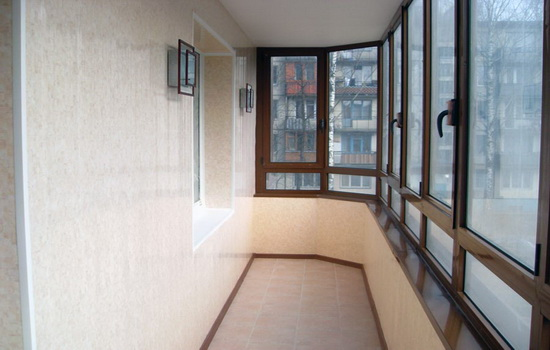 Монтаж окна на лоджии