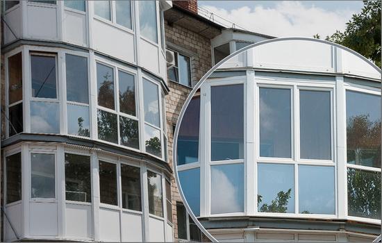 остекление балконов теплым пластиком