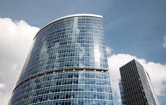 Пример строения с селективными стеклами