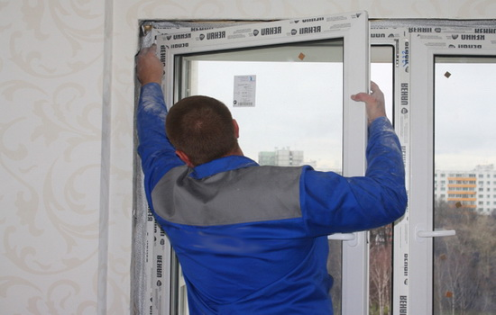 Процесс демонтажа стеклопакета