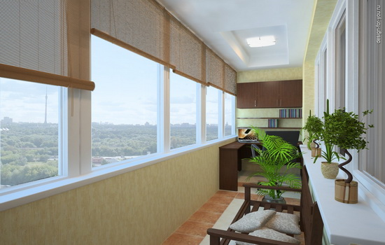 Описание балкона и лоджии